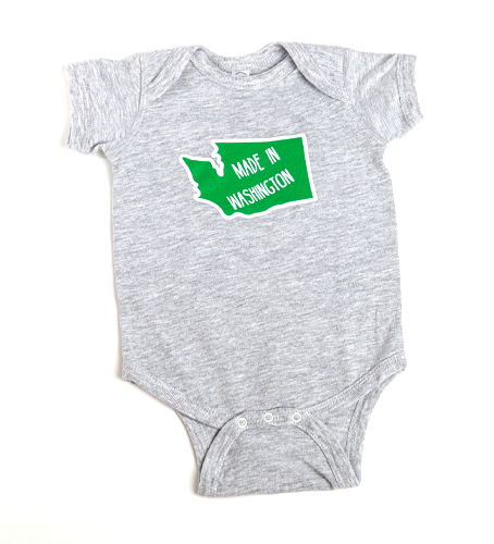 Made in WA Onesie