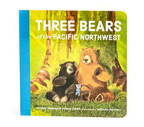 Three Bears of the Pacific Northwest: Based on the best-selling childrens picture book follow little blue bear on his adventures. By Richard Vaughan and Marcia Crews.