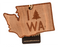 Wood State Ornament