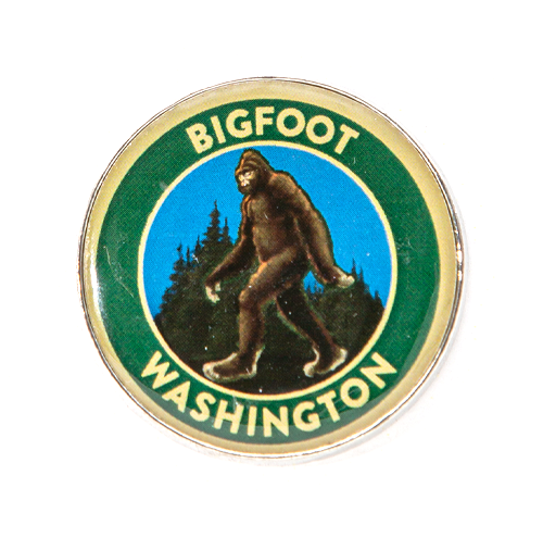 Bigfoot WA Pin