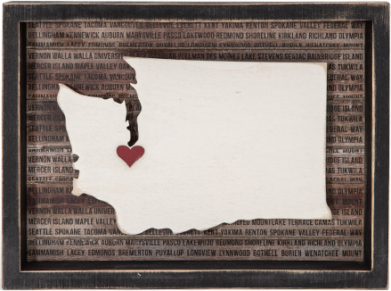 Washington Shadow Box