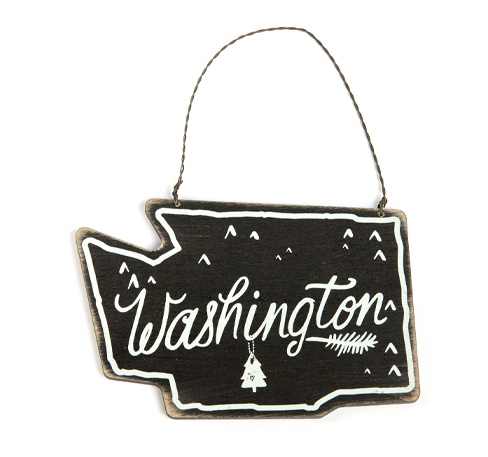 Washington Shape Wall Hanging