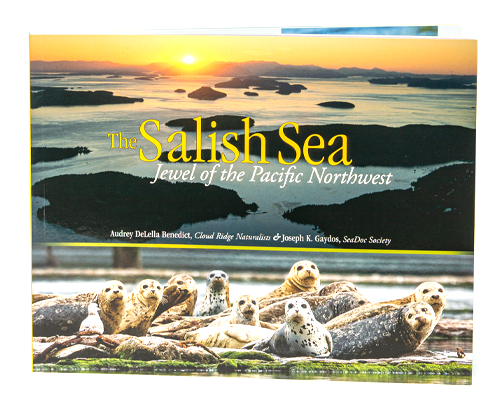 Fascinating visual journey through the Salish Sea, beautiful photographs, and a lively narrative of fascinating stories,  connection with this intricate marine ecosystem and the life that it sustains.
