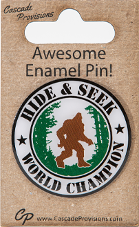 Hide and Seek World Champ Pin