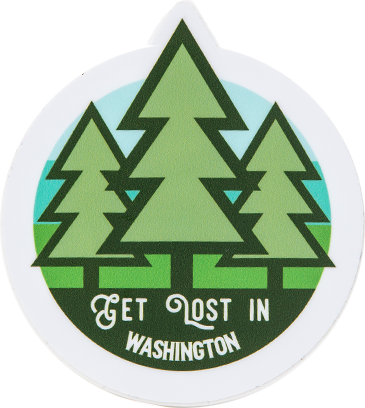 Get Lost in WA Sticker