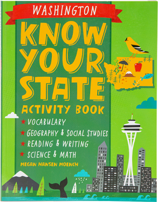 Know Your State Activity Book