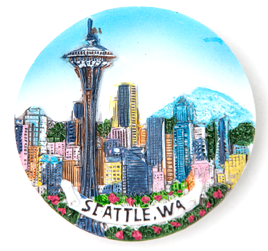 Seattle Magnet Plates