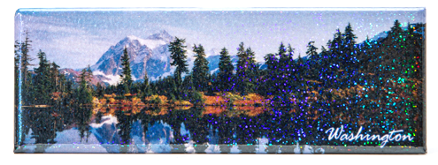 Panoramic Magnets Mt. Rainier