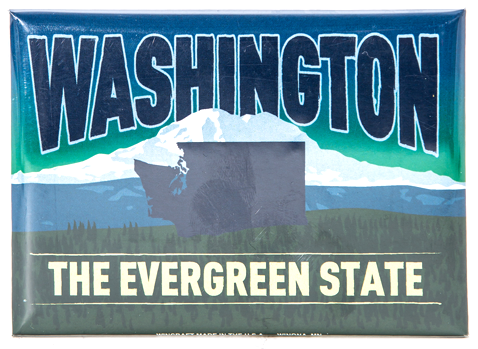 The Evergreen State Magnet