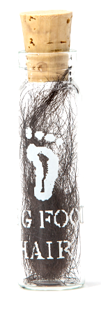 Bigfoot Hair, DNA tested so that we can guarantee that the hair is 99.97% pure