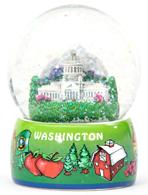 Washington Snow Globe
