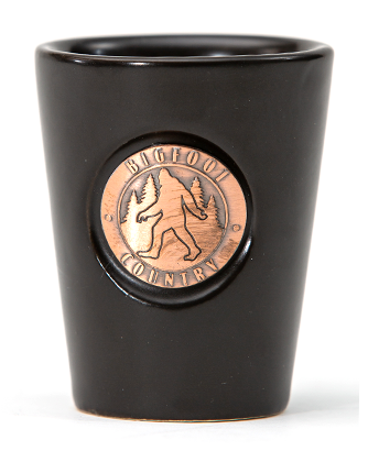 Copper Medallion Shot Glass