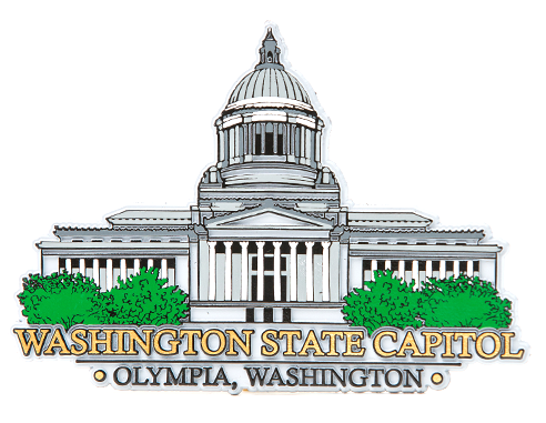 Washington State Capitol Magnet