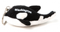 Orca Plush Key Chain