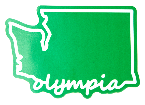 Olympia Washington Sticker