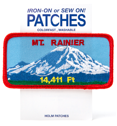 Mt Rainier Patch