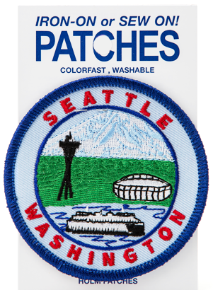 Seattle Icon Patch