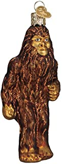Glass Sasquatch Ornament