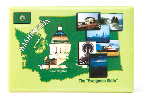 Photo Magnets The Evergreen State 9301