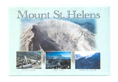 Photo Magnets Mount St. Helens 9611