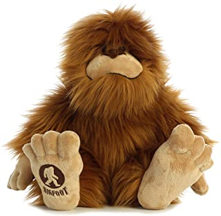Bigfoot plush animal
