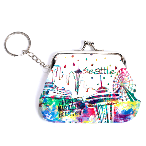 Seattle Coin Purse