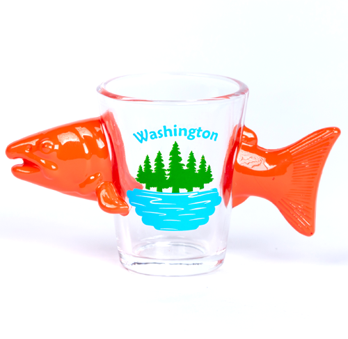 3-D Fish Shot Glass