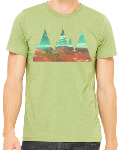 Abstract Mountains T-shirt