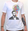 Smoking Abe Lincoln T-shirt