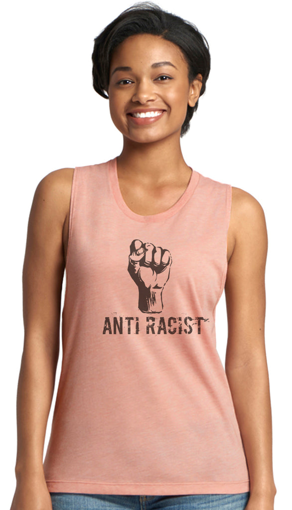 Anti Racist Muscle Tank