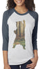 Bear in the Woods Baseball Tee