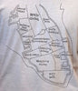 Charleston Map T-shirt