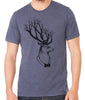 Deer with Tree Antlers T-shirt
