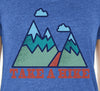 Take A Hike V-neck T-shirt