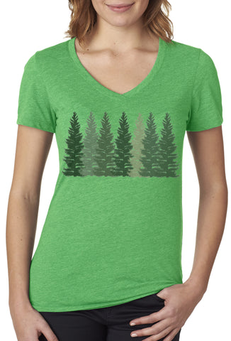 In the Pines V-neck T-shirt