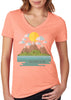 Here Comes The Sun V-neck T-shirt