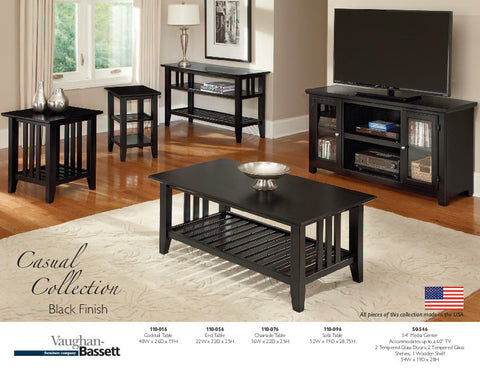 COTTAGE COLLECTION BLACK
