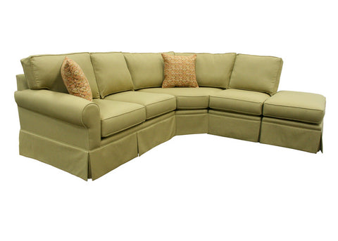 CAPRIS SKIRTED SECTIONAL -010