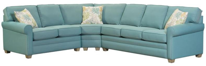 CAPRIS 402 WEDGE SECTIONAL