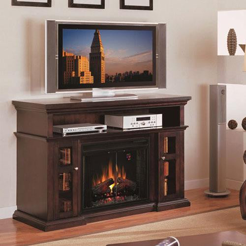 CLASSIC FLAME FIRE PLACE TV CONSOLE