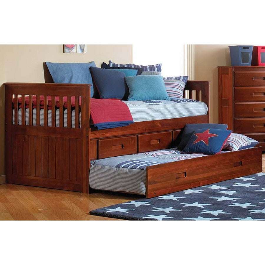 discovery rake bed or day bed in twin size with storage and or trundle florida carolina. Black Bedroom Furniture Sets. Home Design Ideas