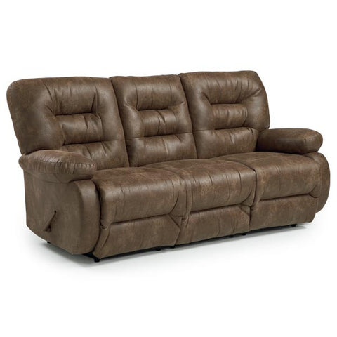 LEATHER SOFA RECLINER MADDOX #024