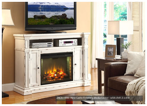 NEWCASTLE FIREPLACE TV CONSOLE