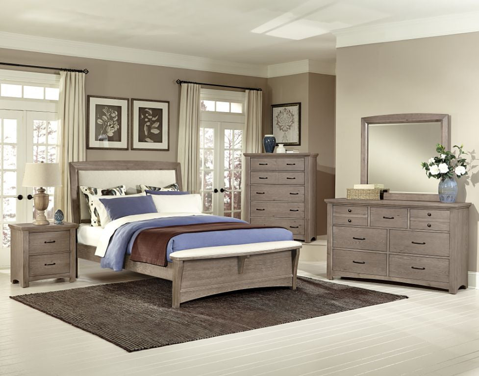 DRIFTWOOD COLLECTION UPHOLSTERED BED