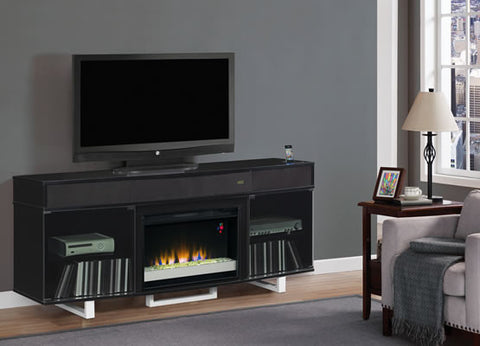 ENTERPRISE FIREPLACE BLACK