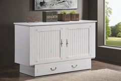 CABINET BED COTTAGE WHITE