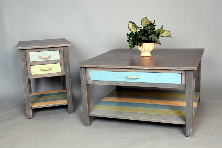 WESTMORELAND WESTON COFFEE AND END TABLES