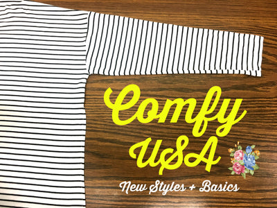 Comfy USA: New Styles & Restock