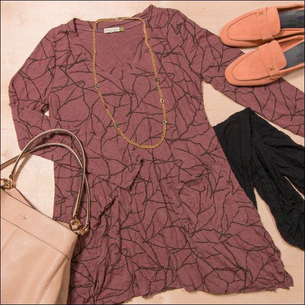 Chalet Crinkle clothing available at Lissa the shop.