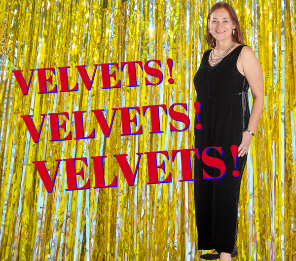 Holiday Velvets at LISSAtheshop.com